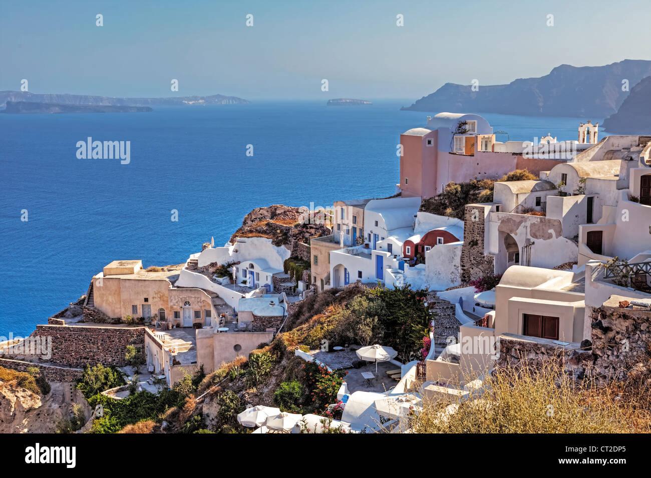 Oia, Santorini, Greece - Stock Image