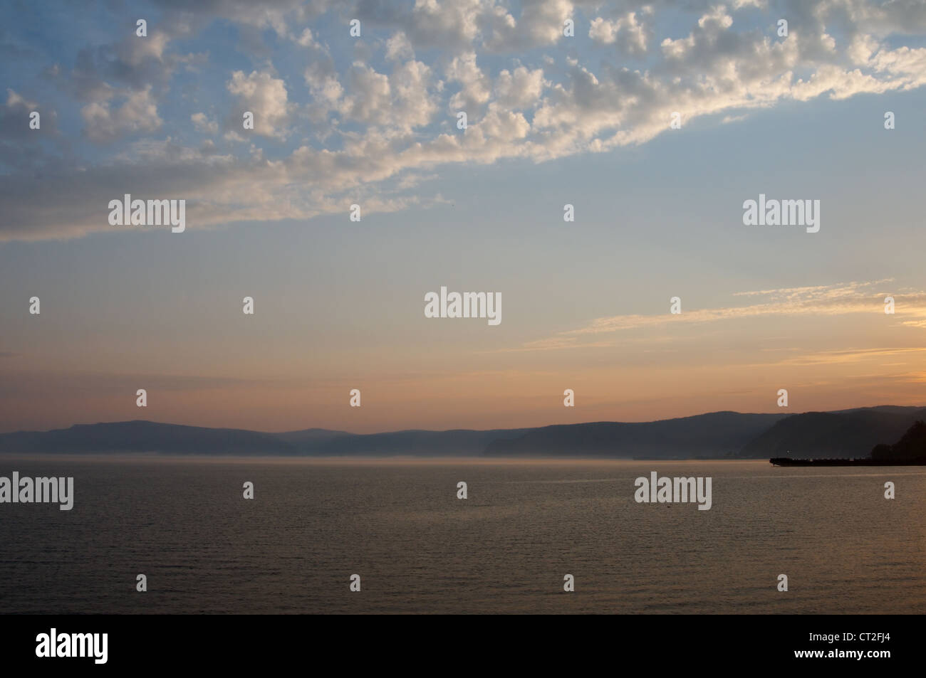 Decline. Baikal lake, Siberia, Russian Federation - Stock Image