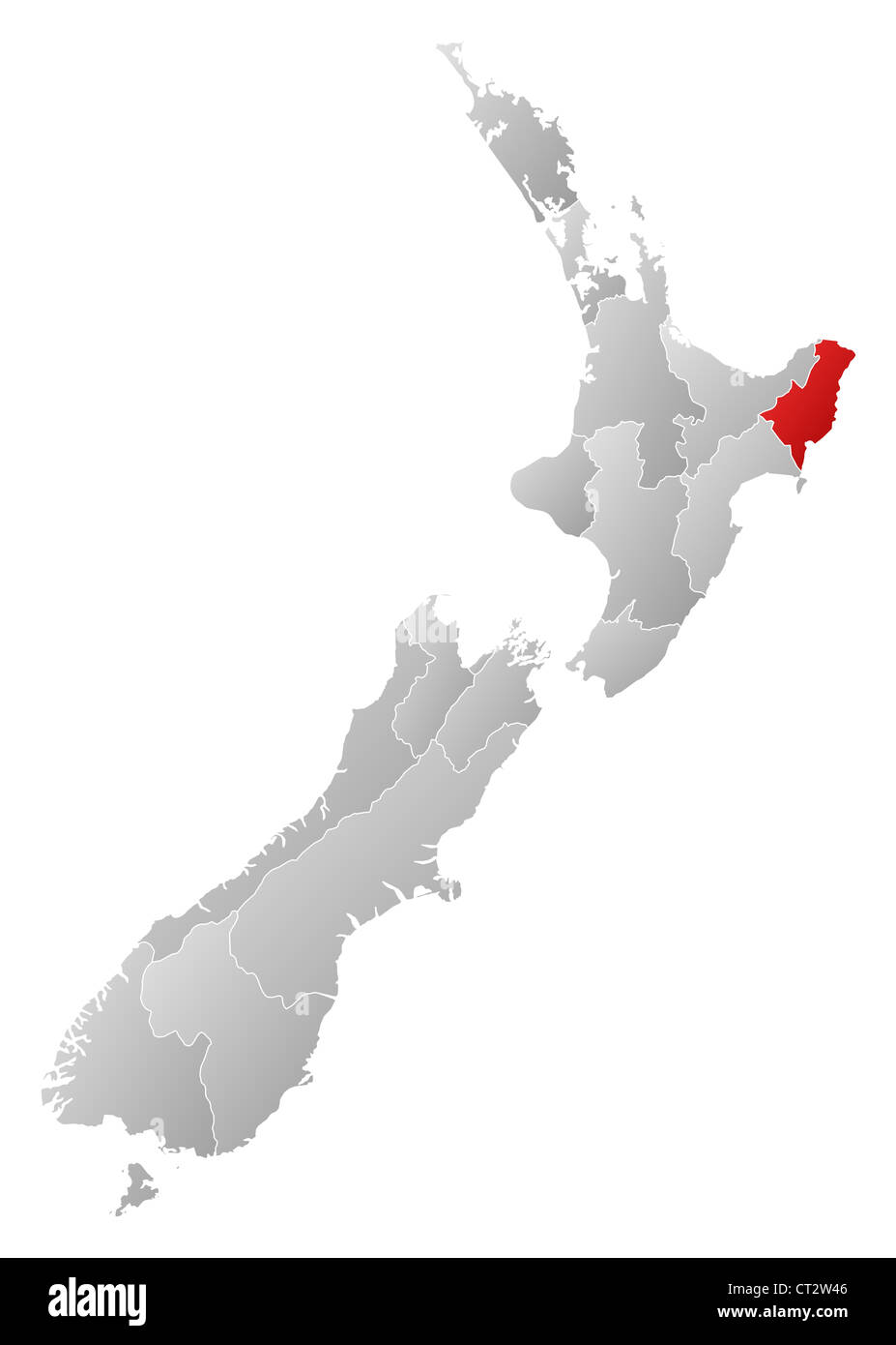 Political map of New Zealand with the several regions where ... on bay of plenty new zealand map, marahau new zealand map, auckland new zealand map, mount ngauruhoe new zealand map, waiotapu new zealand map, mount ruapehu new zealand map, piha new zealand map, waikato new zealand map, franz josef glacier new zealand map, lake pukaki new zealand map, hot water beach new zealand map, manukau new zealand map, mount taranaki new zealand map, broadmeadows new zealand map, bay of islands new zealand map, dunedin new zealand map, queen charlotte sound new zealand map, feilding new zealand map, chatham islands new zealand map,