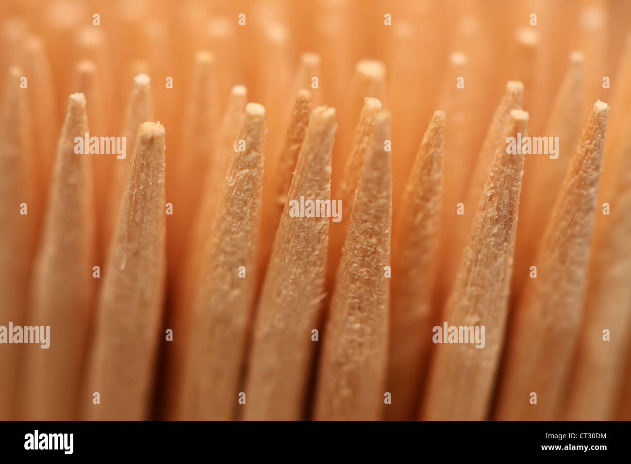 Toothpicks - Stock Image