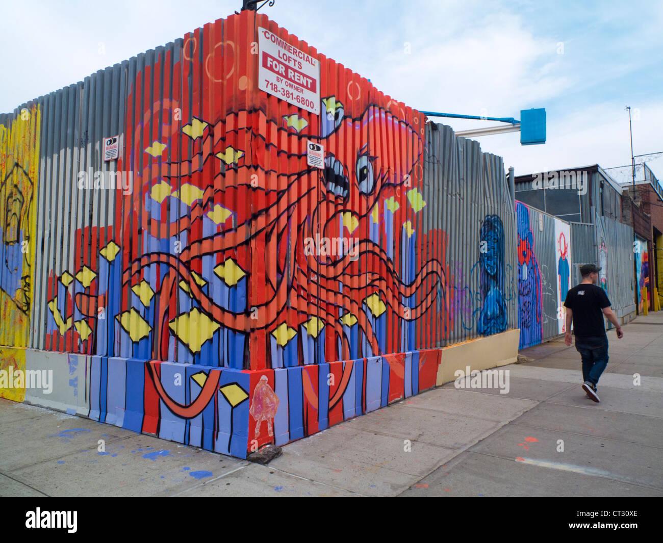 Bushwick Brooklyn Graffiti Street Art
