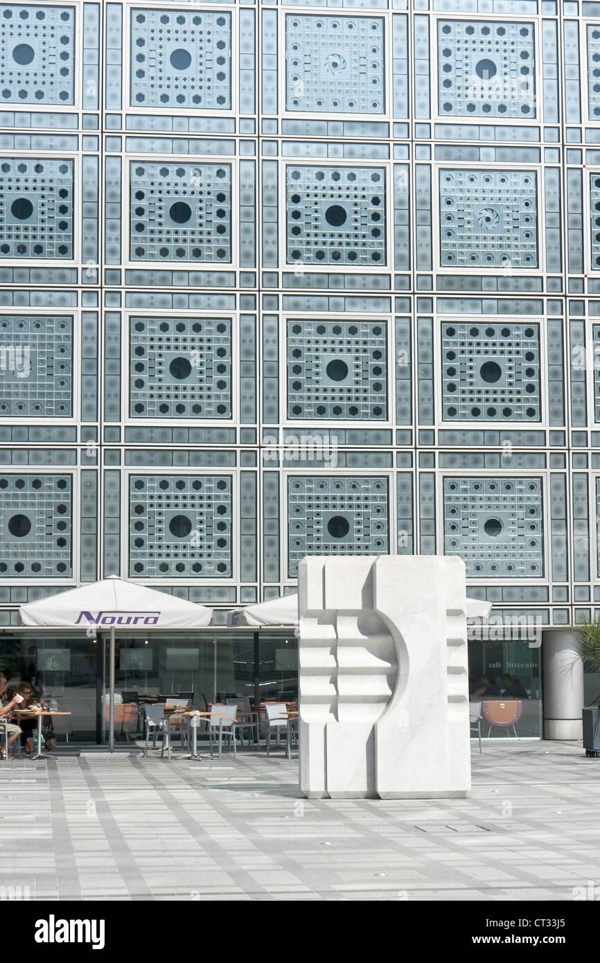 Institut du Monde Arabe - Stock Image