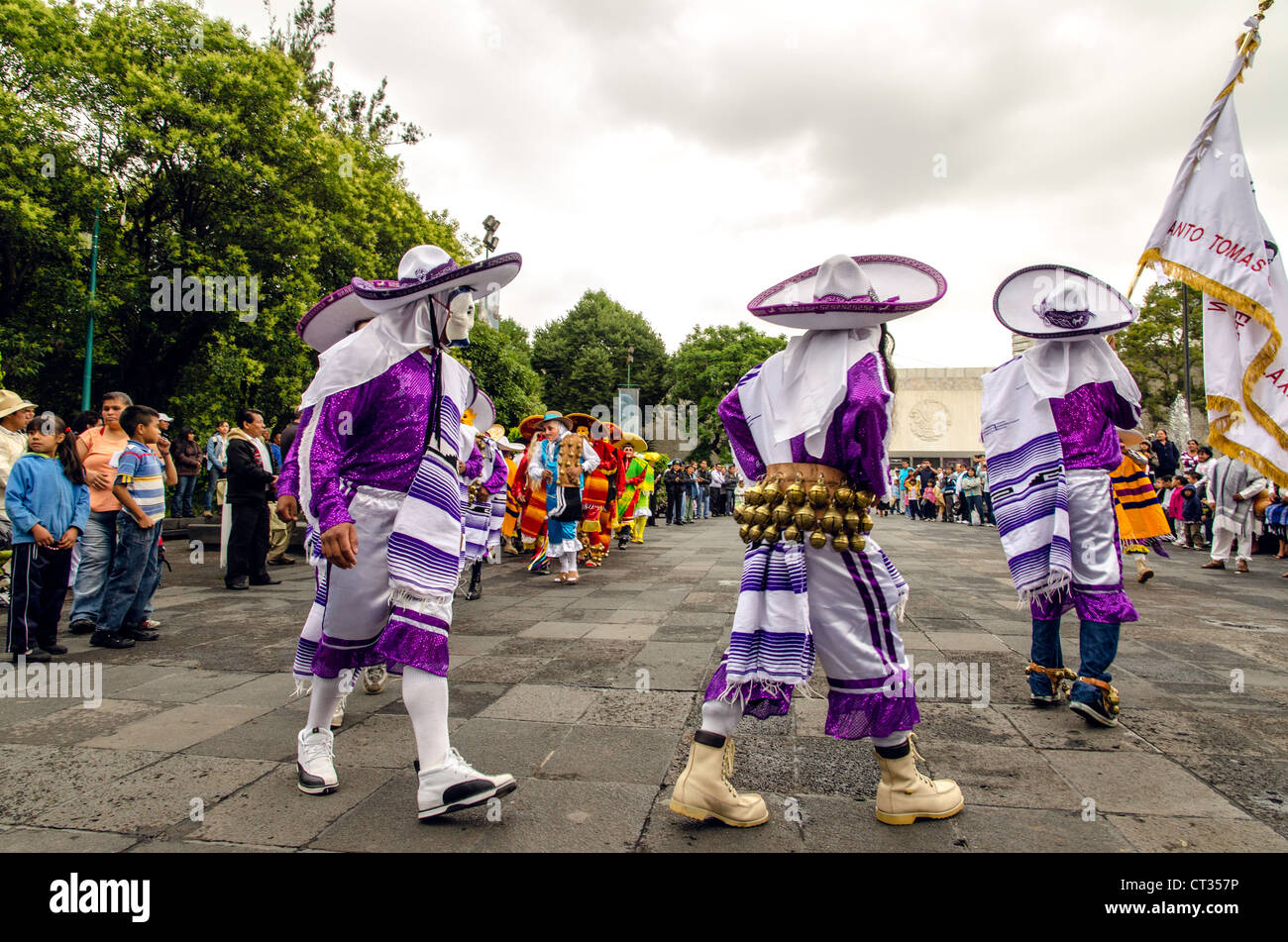 Traditional Mexican Sombreros Mexico City Mexico Central America - Stock Image