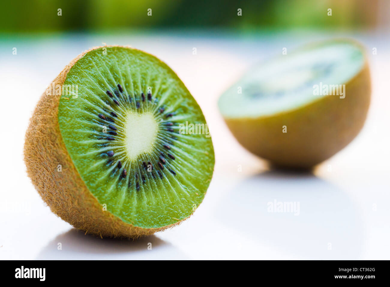 This is an image of Kiwi fruit. - Stock Image