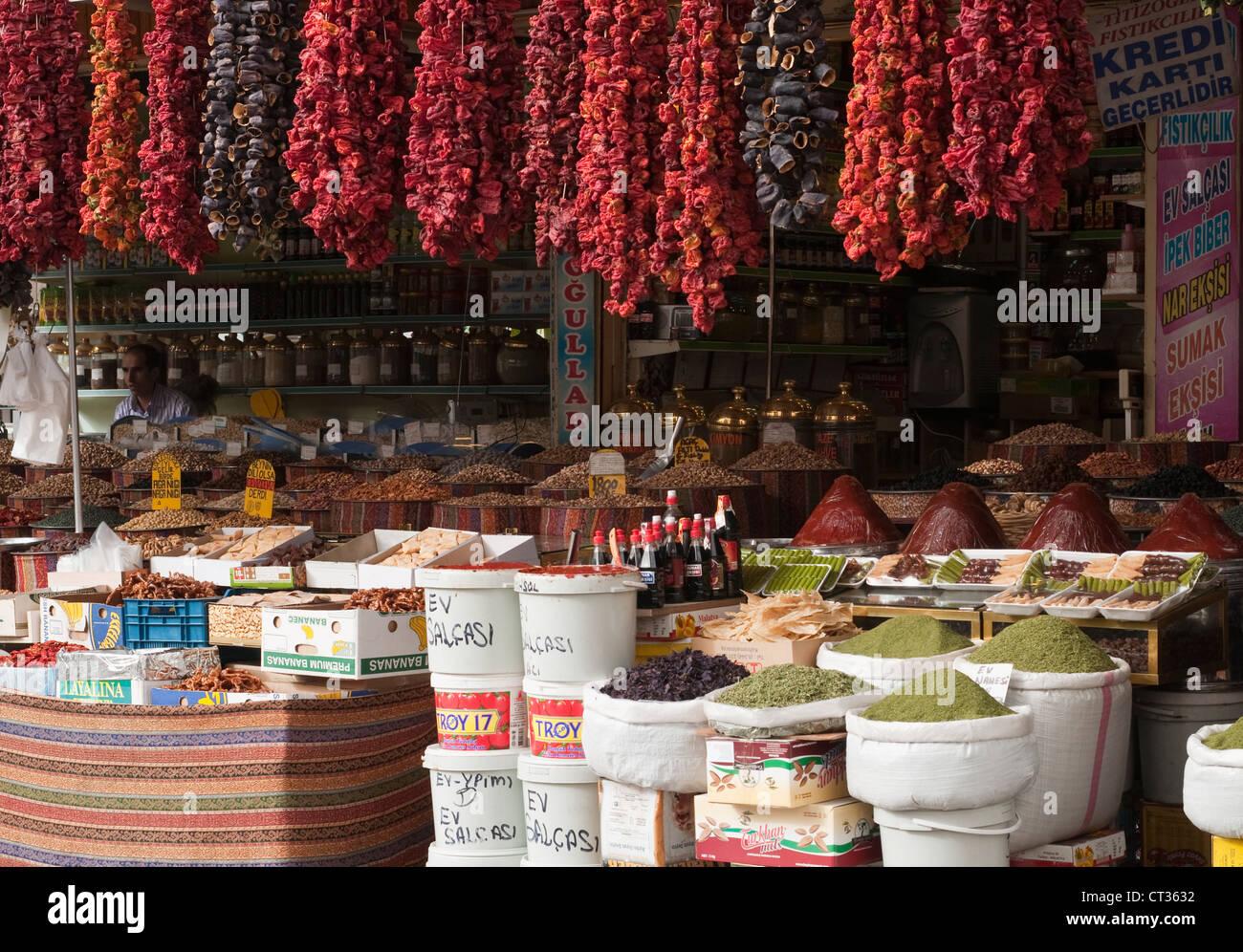 Capsicum annuum, Pepper, Sweet pepper - Stock Image