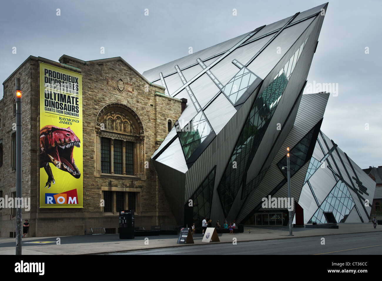This is an image of the Royal Ontario Museum - Stock Image