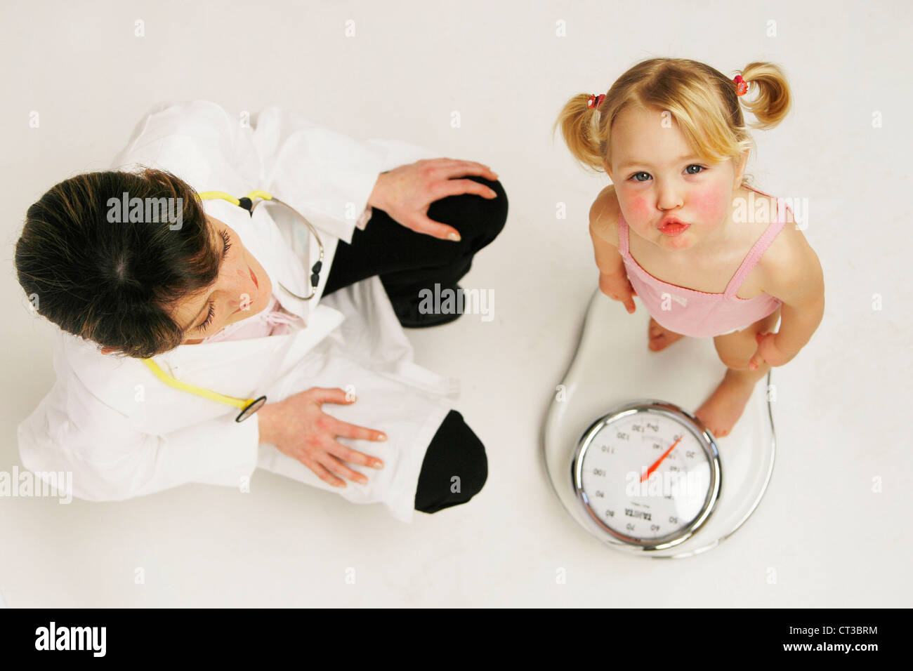 WEIGHT, CHILD - Stock Image