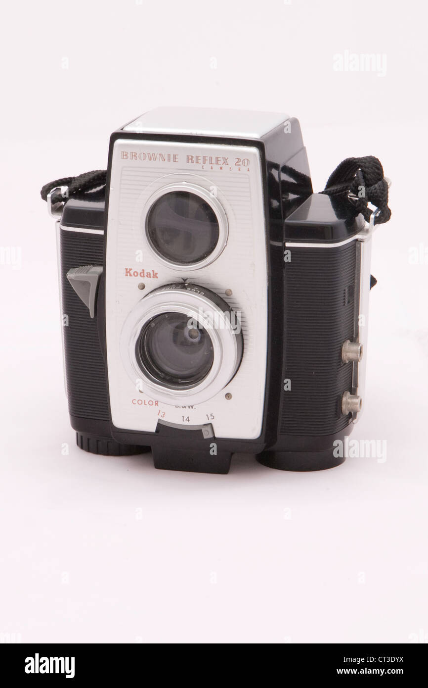 Kodak Brownie Reflex 20 Camera - Stock Image