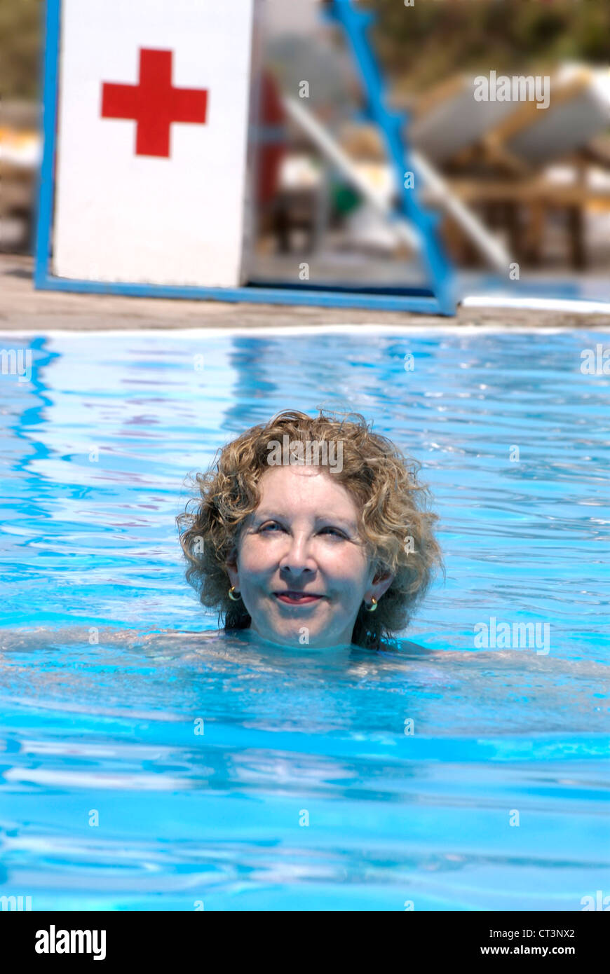 60 Year Old Woman Swimming Stock Photos 60 Year Old Woman Swimming Stock Images Alamy