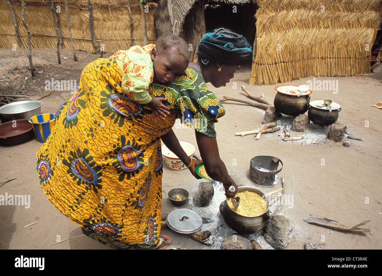 AFRICA, FOOD - Stock Image