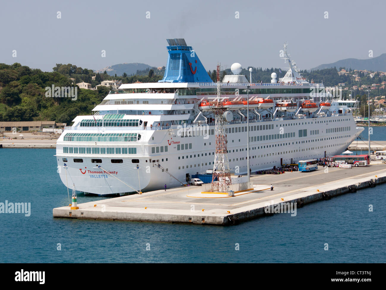 Corfu Port High Resolution Stock Photography and Images - Alamy