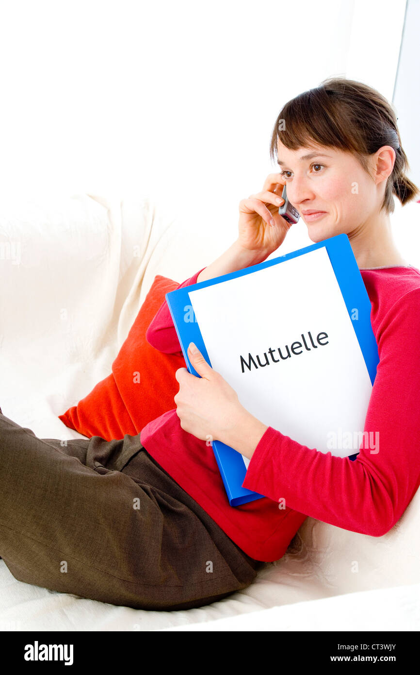MUTUAL INSURANCE COMPANY - Stock Image