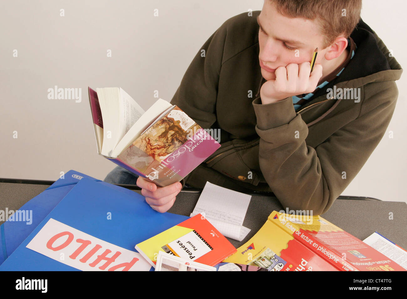 PHILOSOPHY - Stock Image