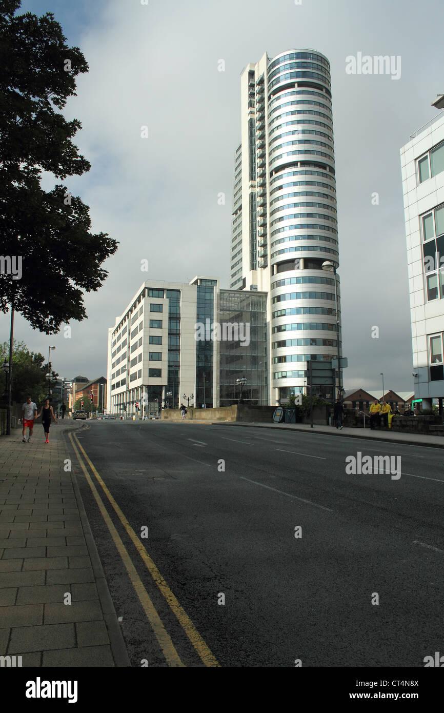 Bridgewater place Leeds city center - Stock Image