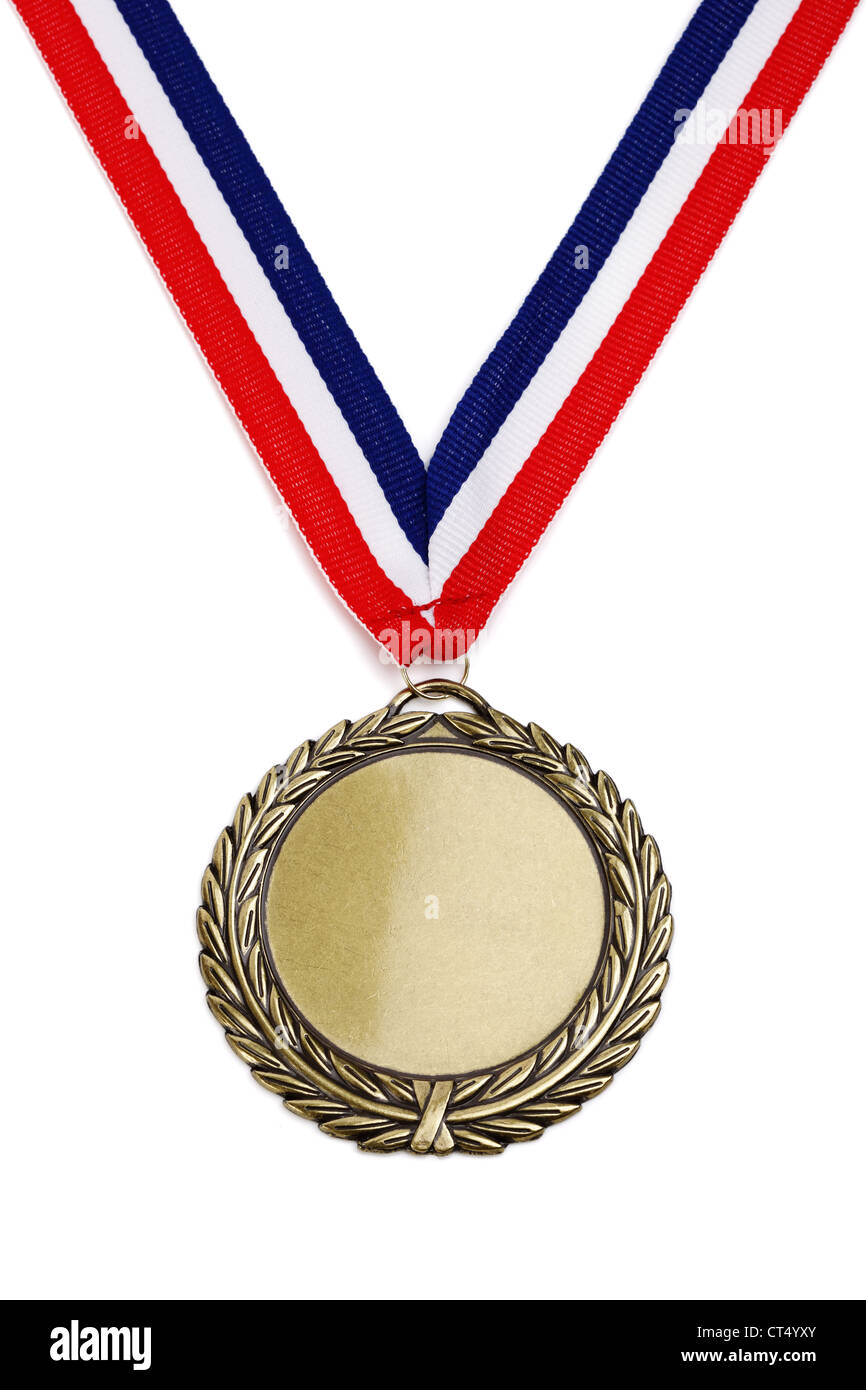 Olympic gold medal - Stock Image
