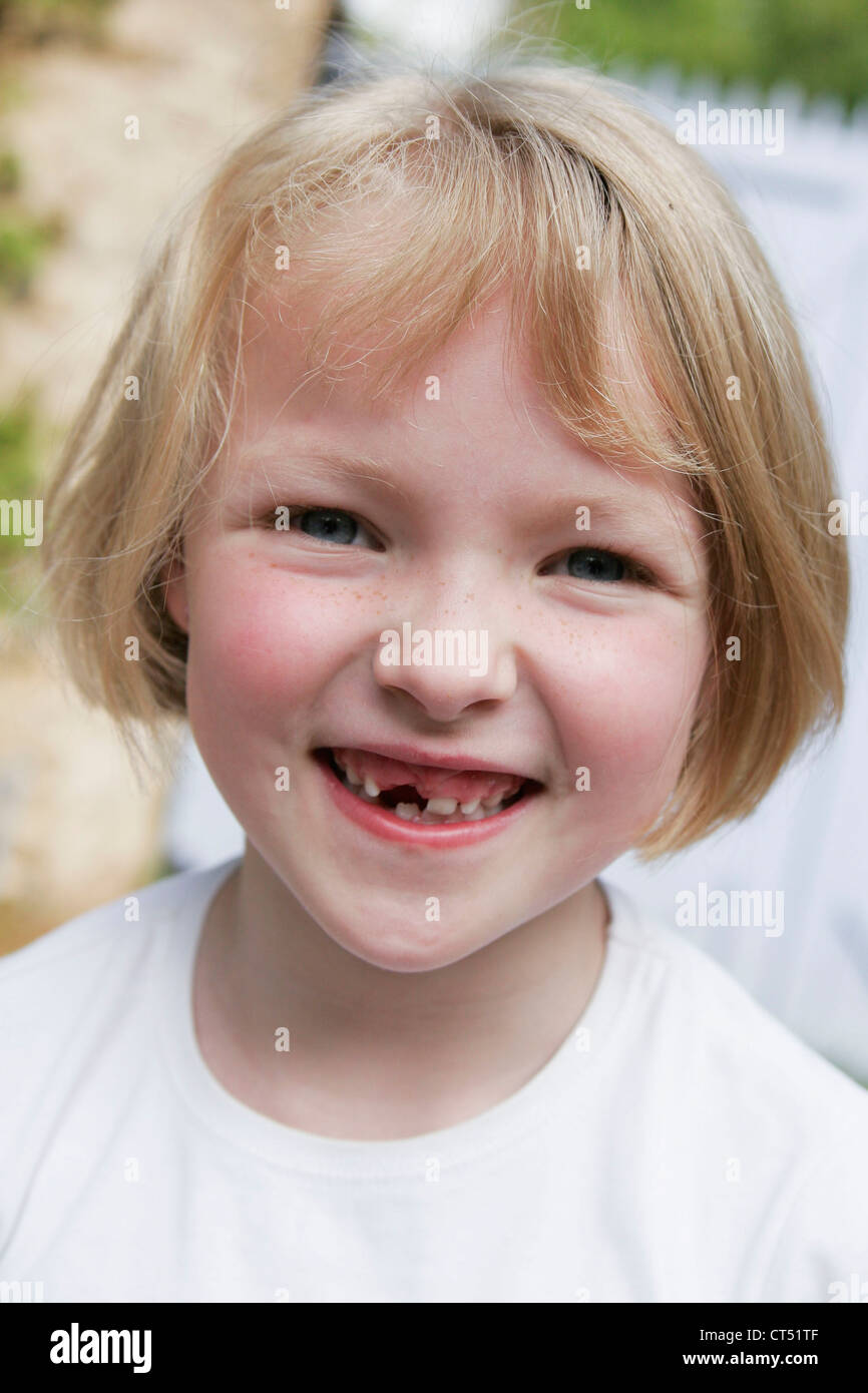 PORTRAIT OF A CHILD, 5/12 - Stock Image