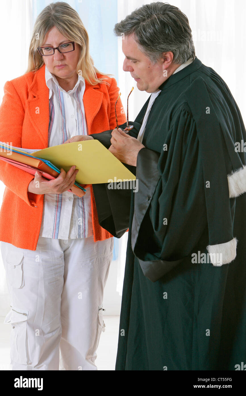LAWYER - Stock Image