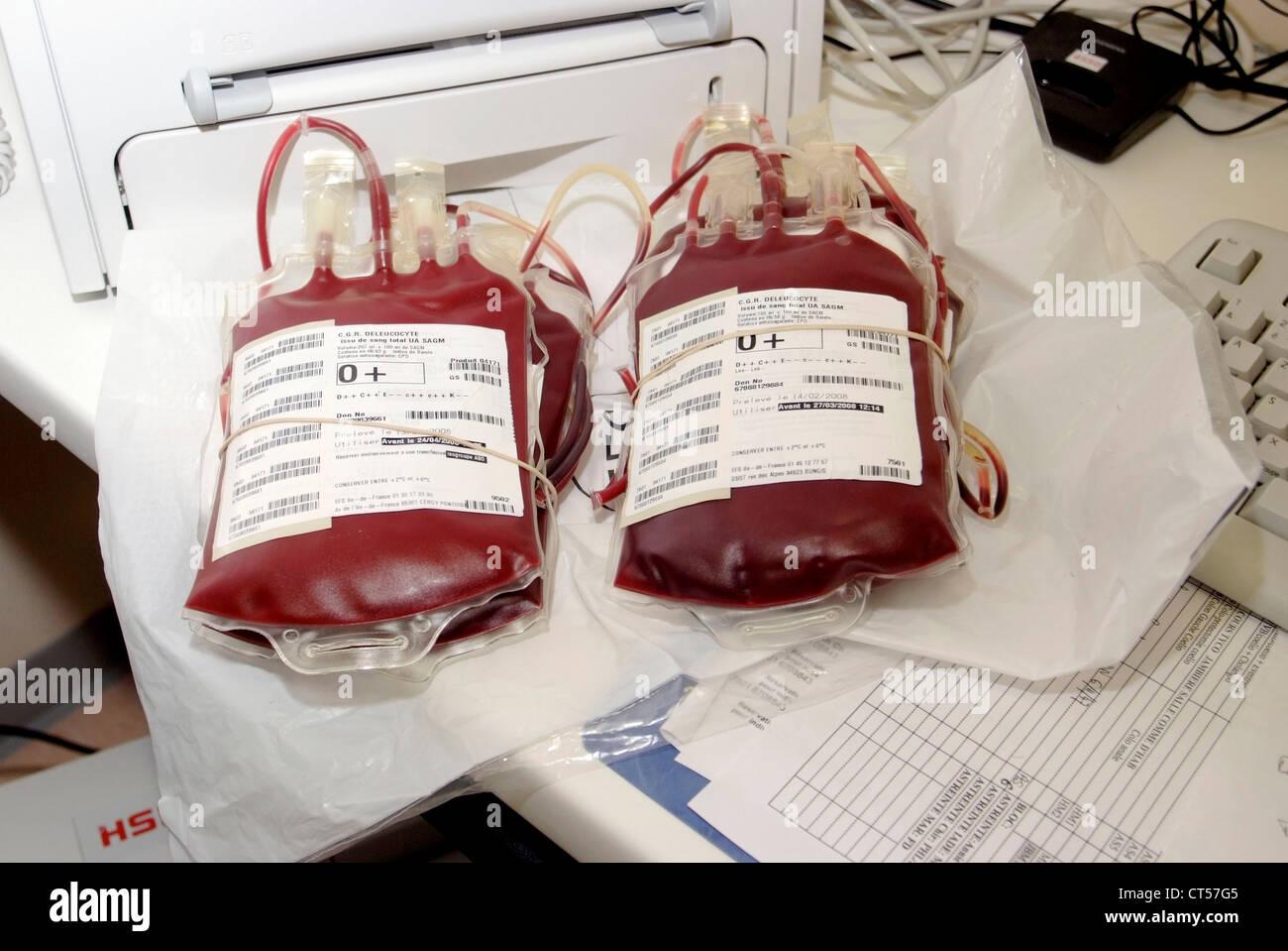 BLODD STOCK Stock Photo