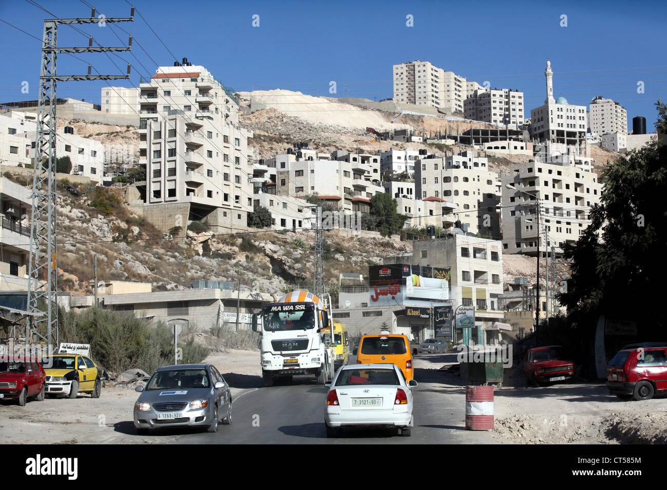 Nablus, Palestine, West Bank, Palestinian Authority - Stock Image
