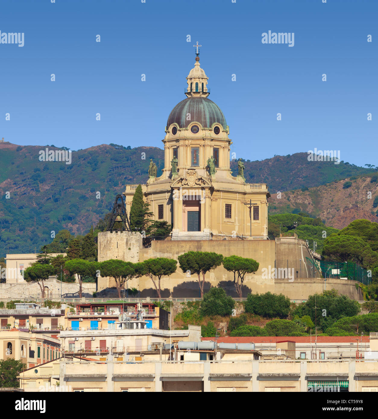 "Italy Sicily Messina Christ the King of Montalto ""Cristo ..."
