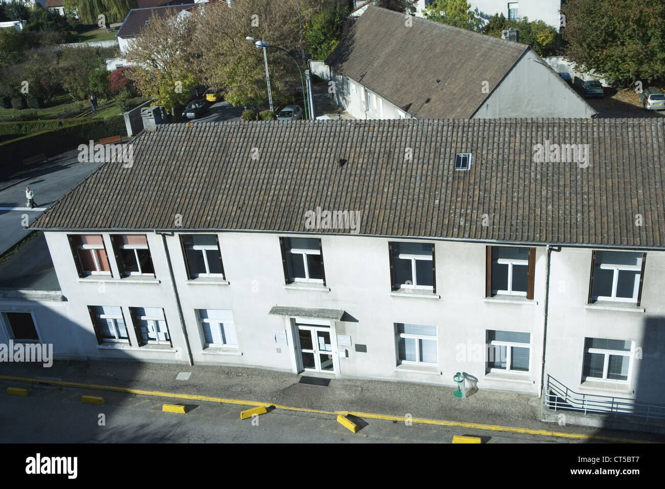PROVINCIAL HOSP., MEAUX, FR. - Stock Image