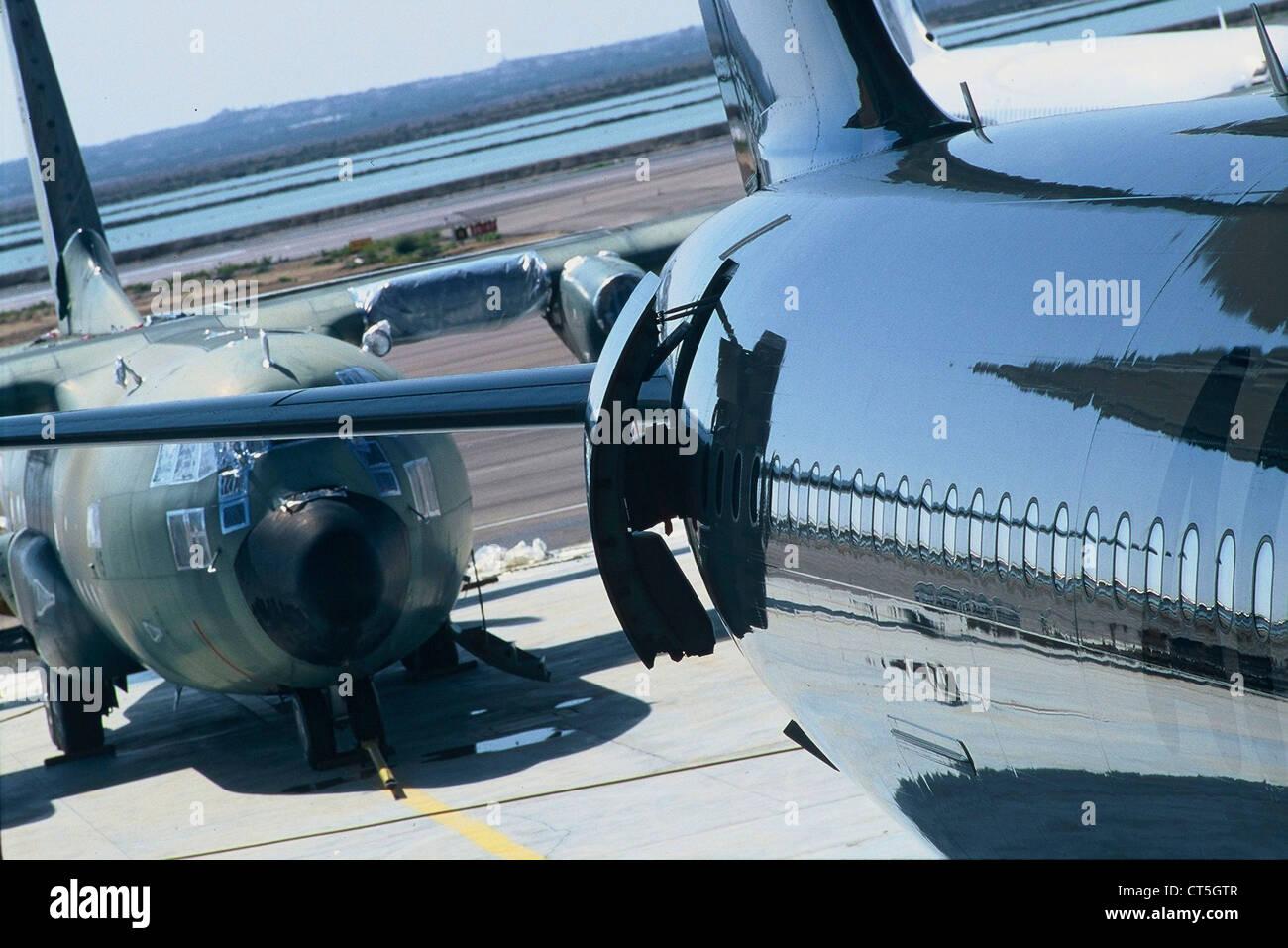 AERONAUTICS INDUSTRY - Stock Image