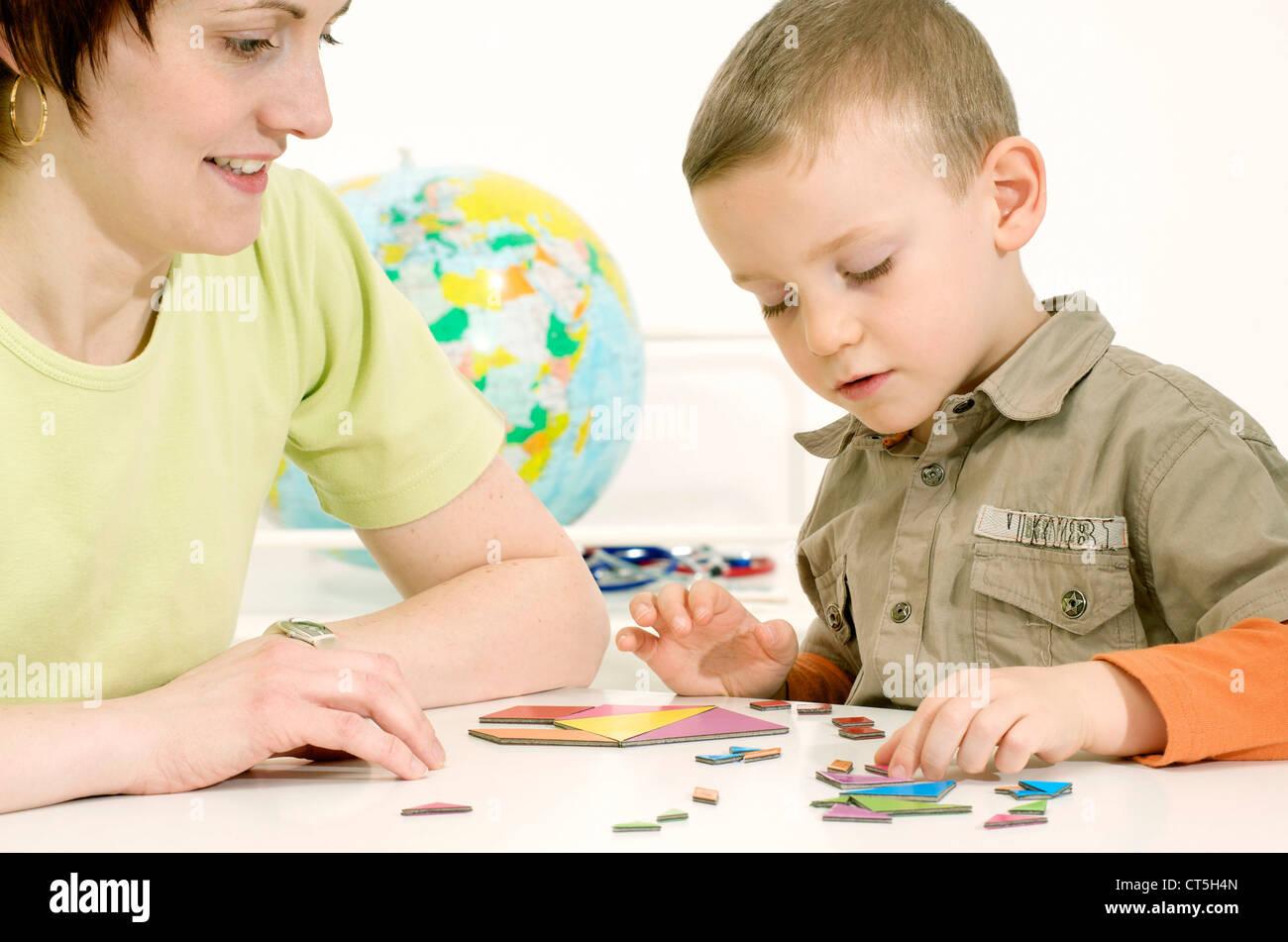 CHILD PSYCHOLOGY - Stock Image