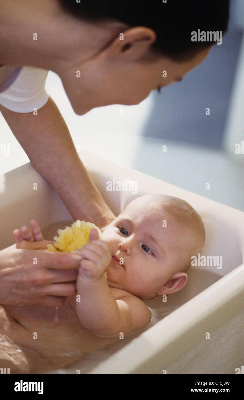 Bath Sponge For Children Stock Photos & Bath Sponge For Children ...