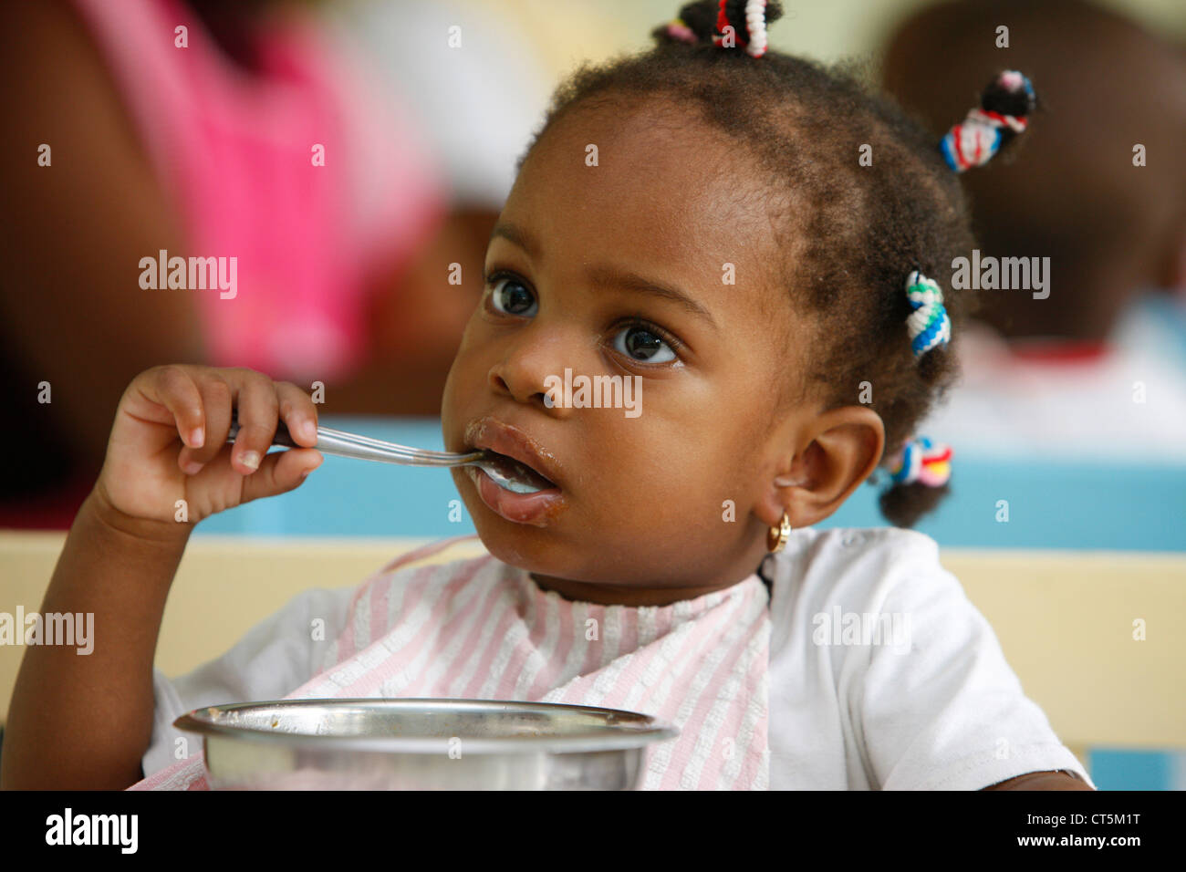 AFRICAN'S ORPHANAGE - Stock Image
