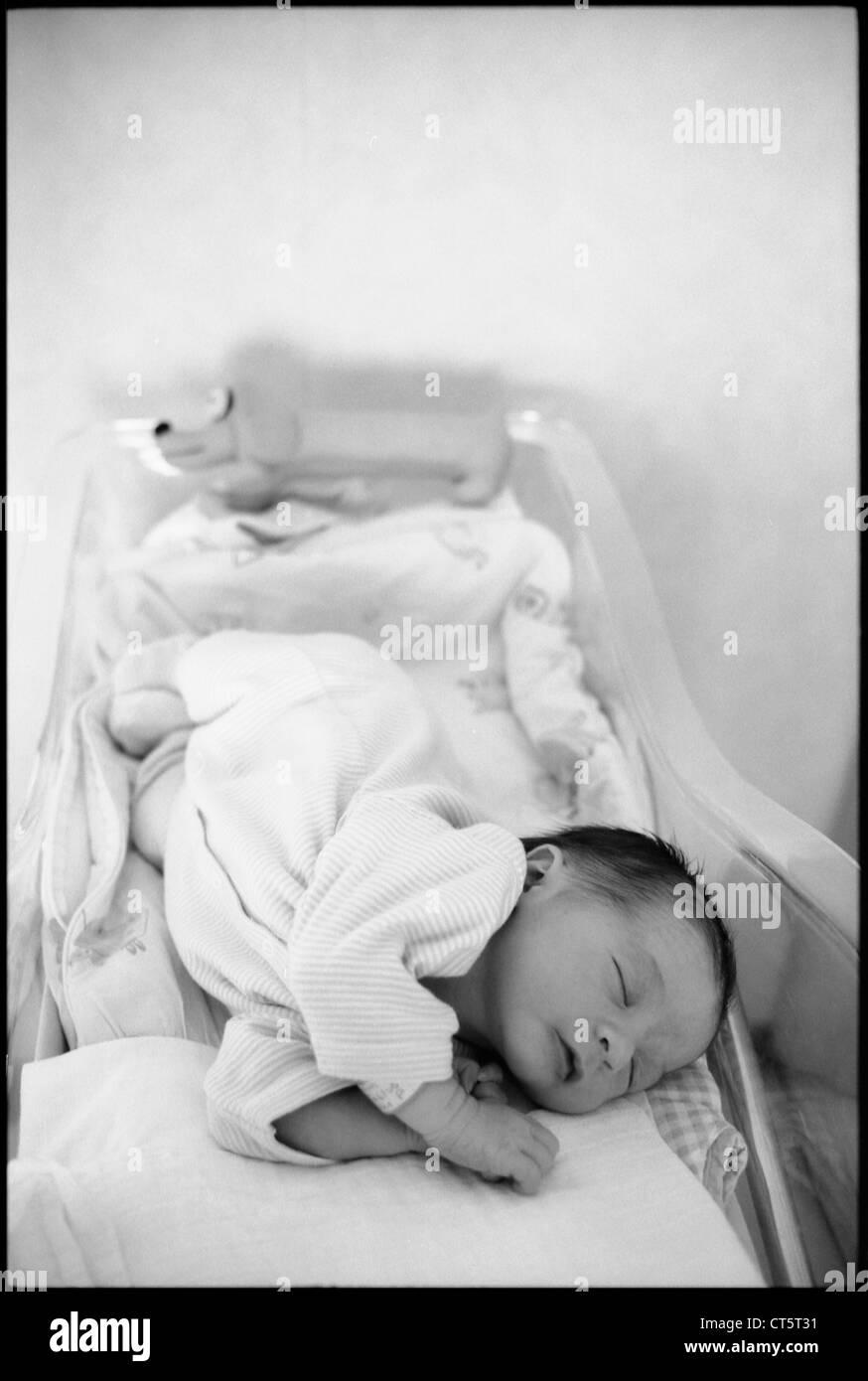 NEWBORN BABY - Stock Image