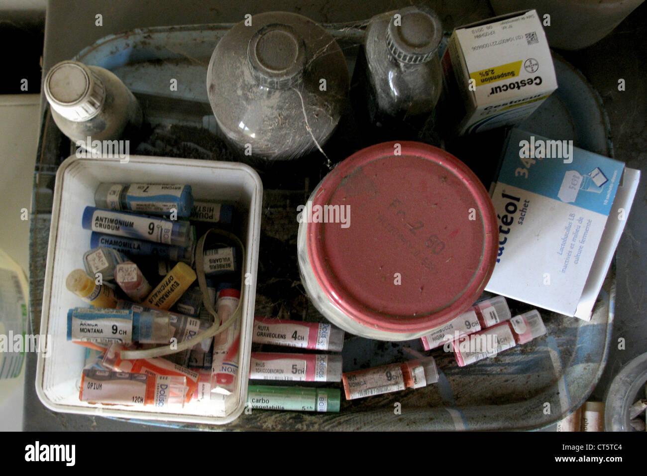 EXPIRED DRUG - Stock Image