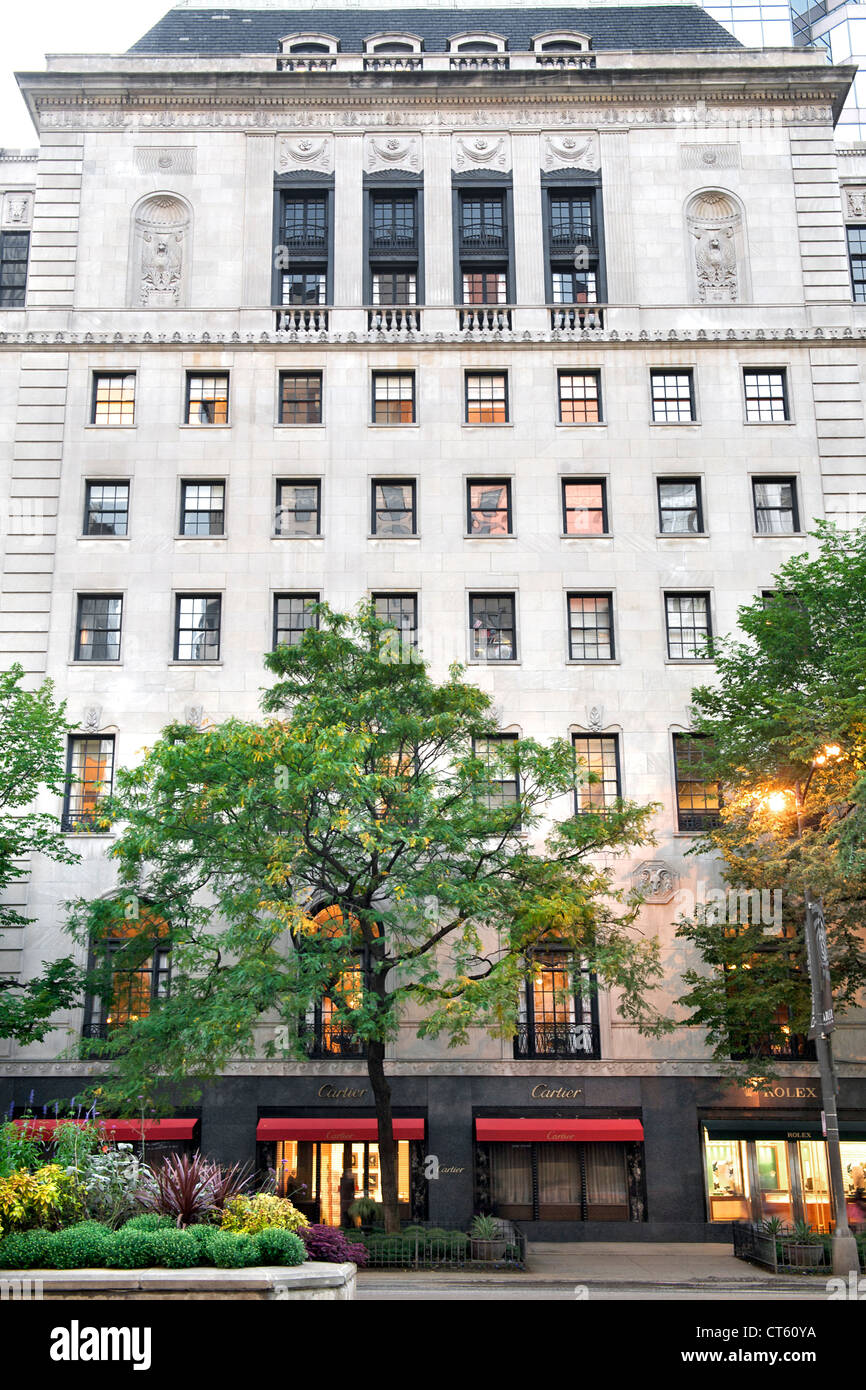 Women's Athletic Club building in Chicago, Illinois, USA. - Stock Image