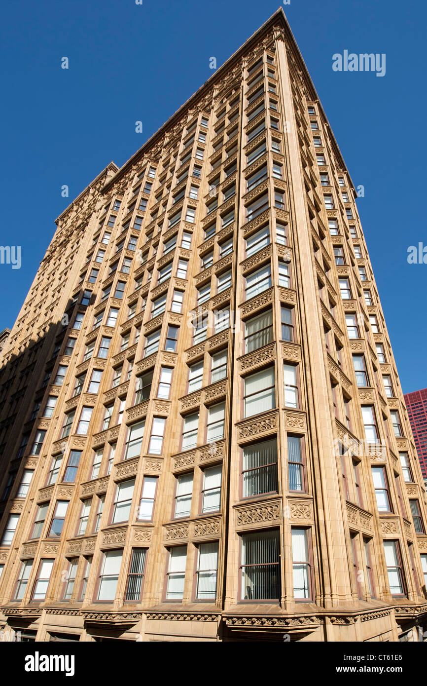 Fisher Building in Chicago, Illinois, USA. - Stock Image