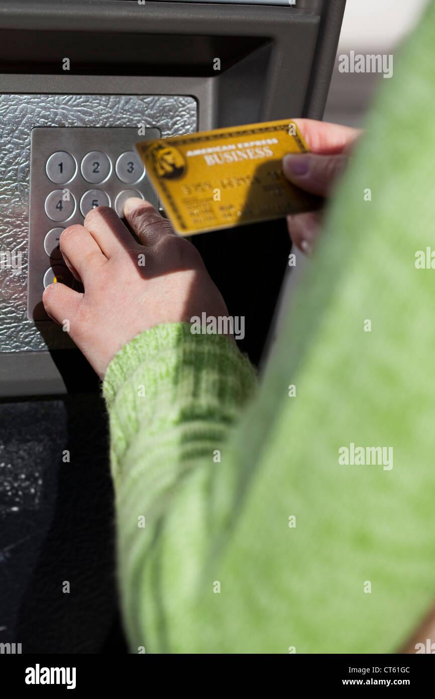 BANKING CARD Stock Photo
