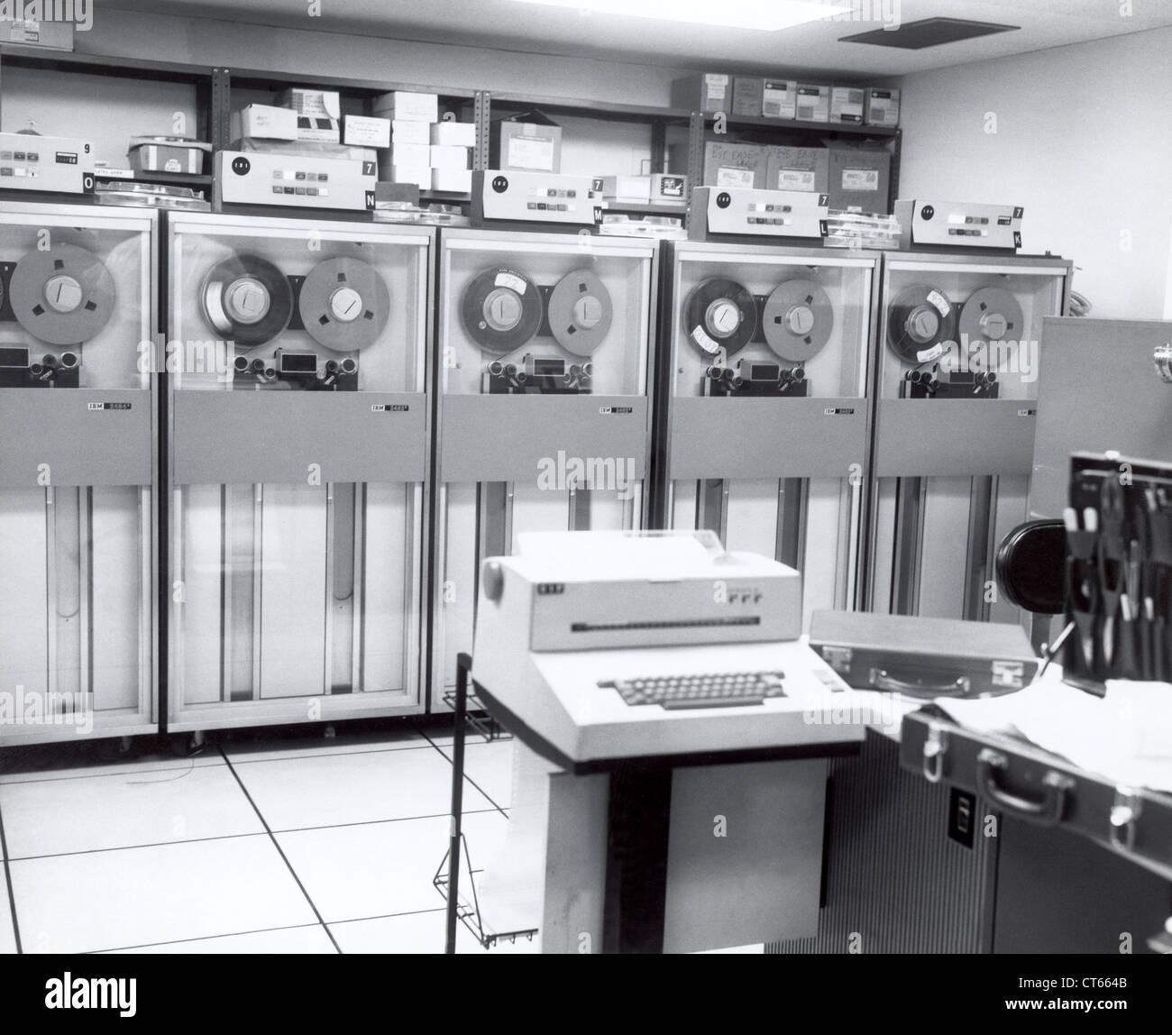 Printer and server room - Stock Image