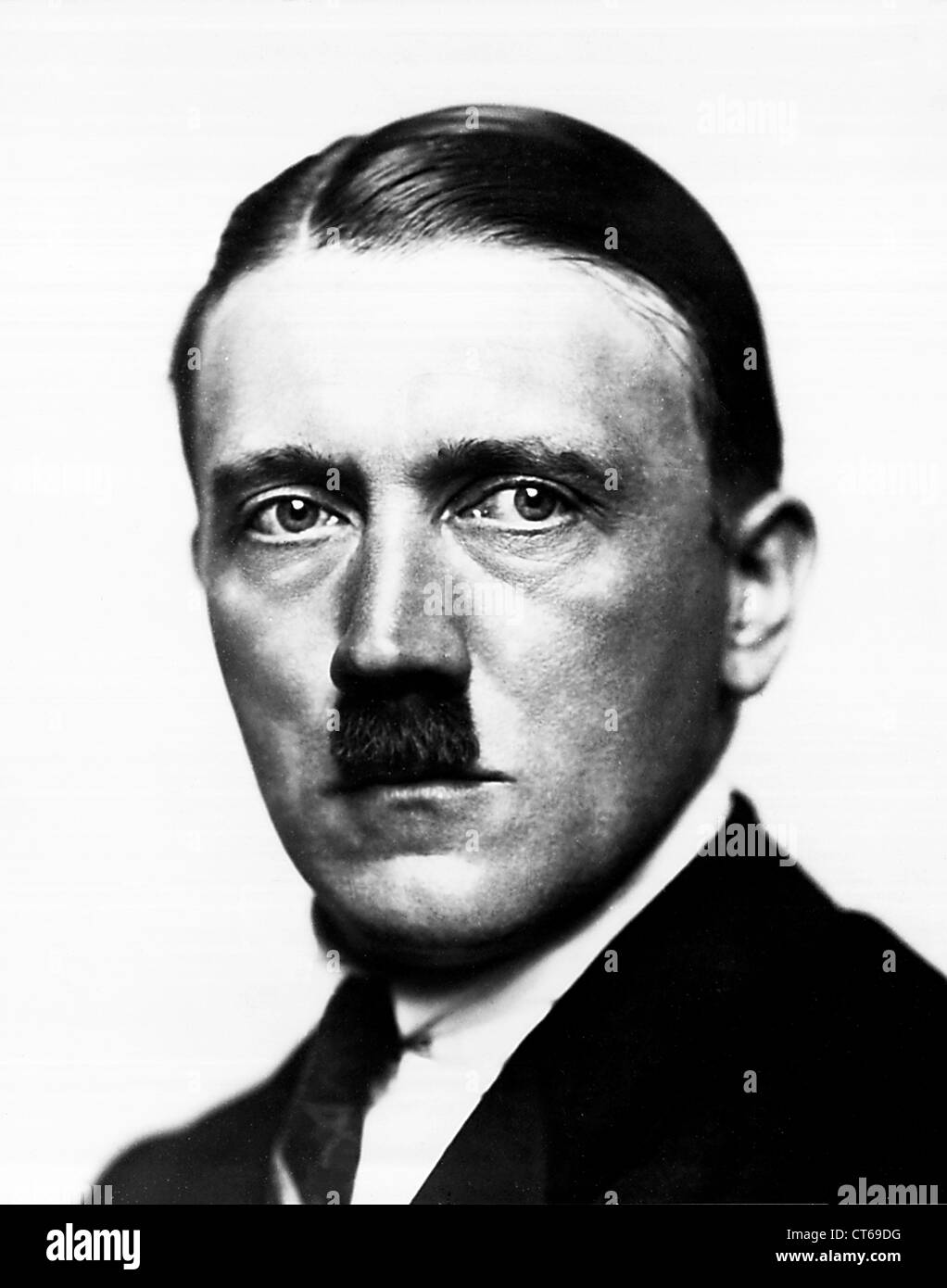 Portrait of Adolf Hitler - Stock Image