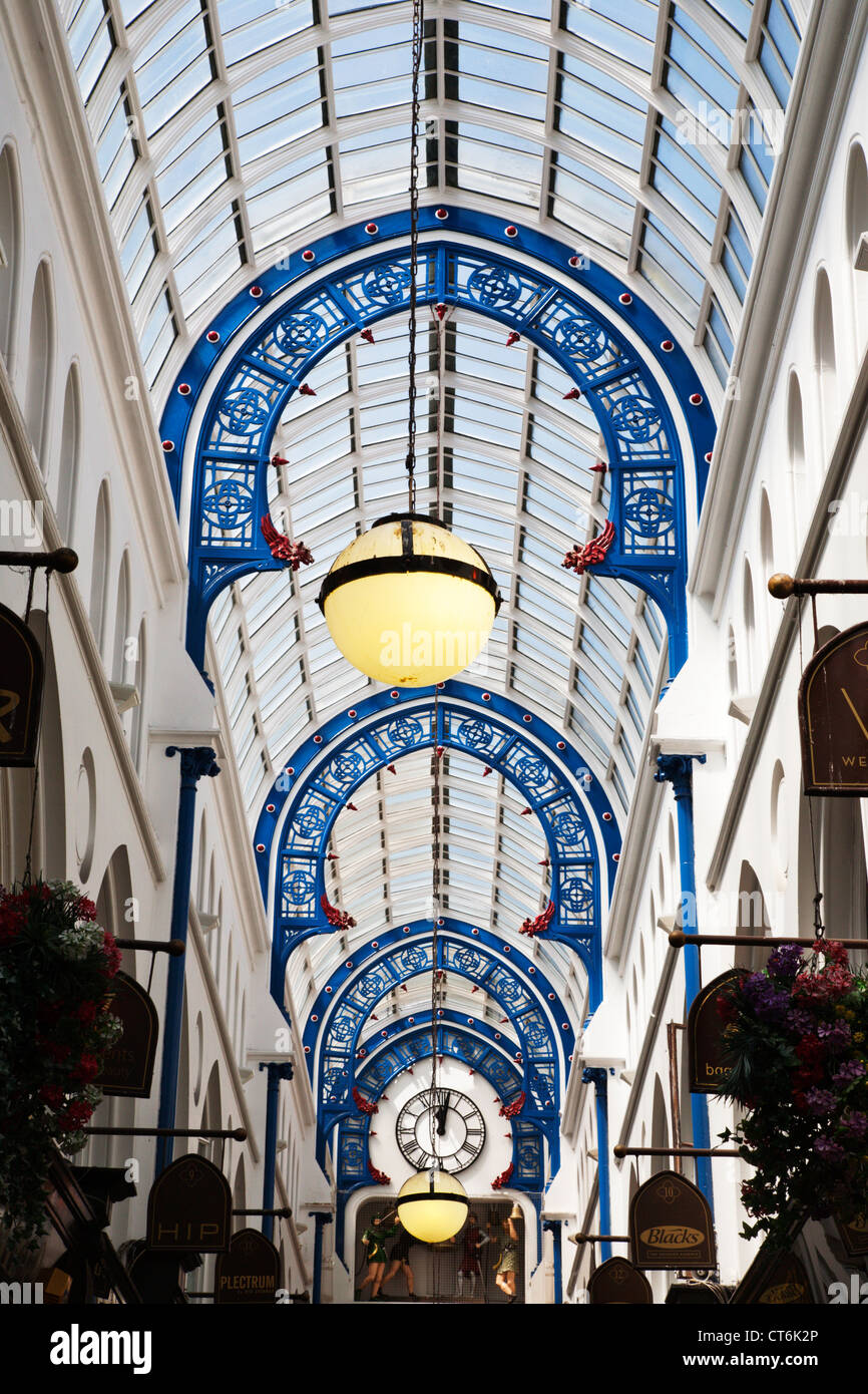 Thorntons Arcade in the Victoria Quarter Leeds West Yorkshire UK - Stock Image