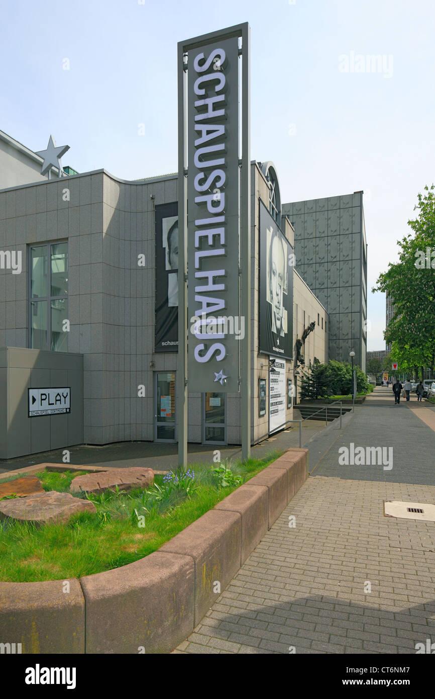 Schauspielhaus am Hiltropwall in Dortmund, Ruhrgebiet, Nordrhein-Westfalen Stock Photo