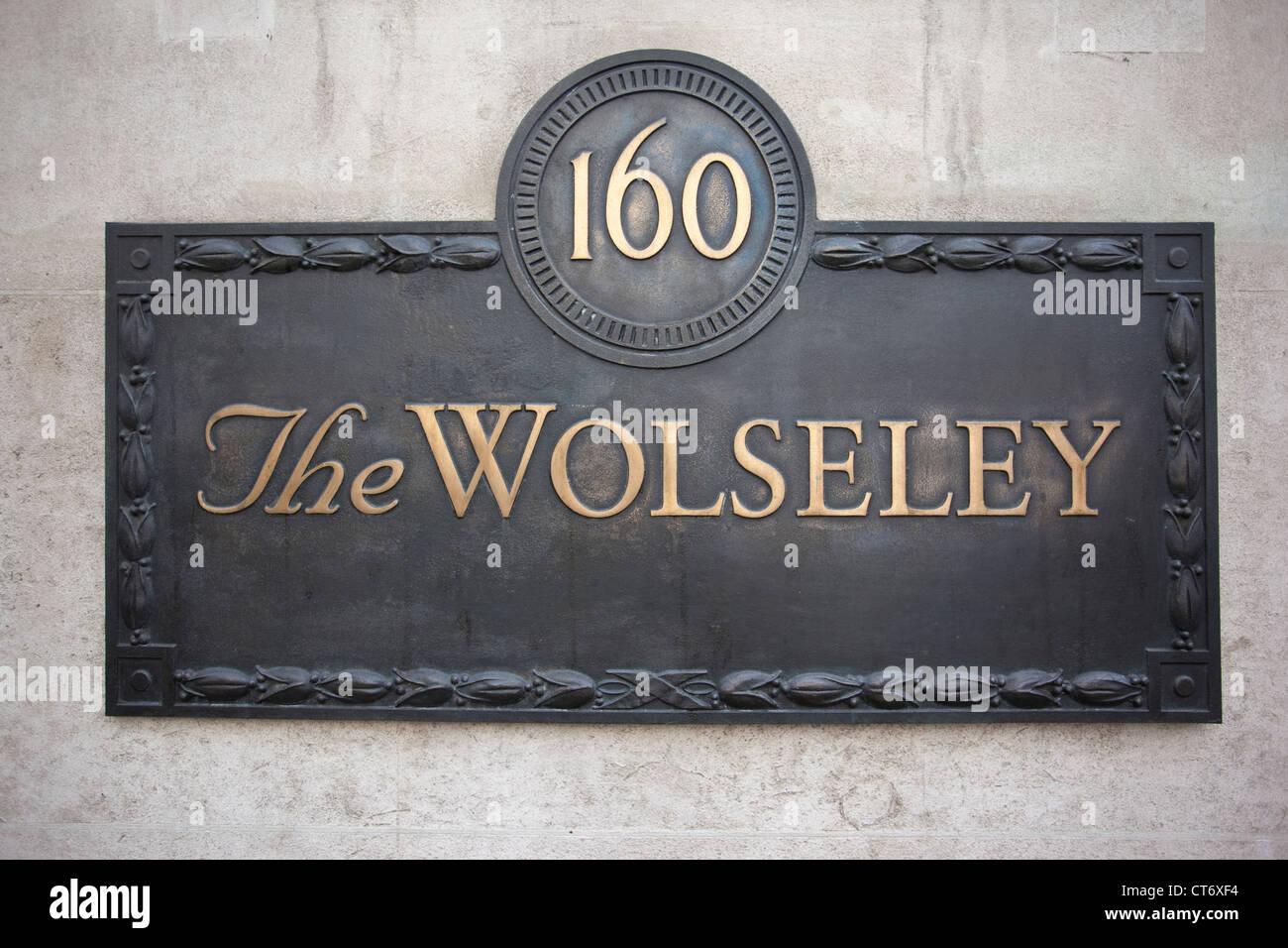 The Wolseley restaurant 160 Piccadilly, London, England, United Kingdom - Stock Image