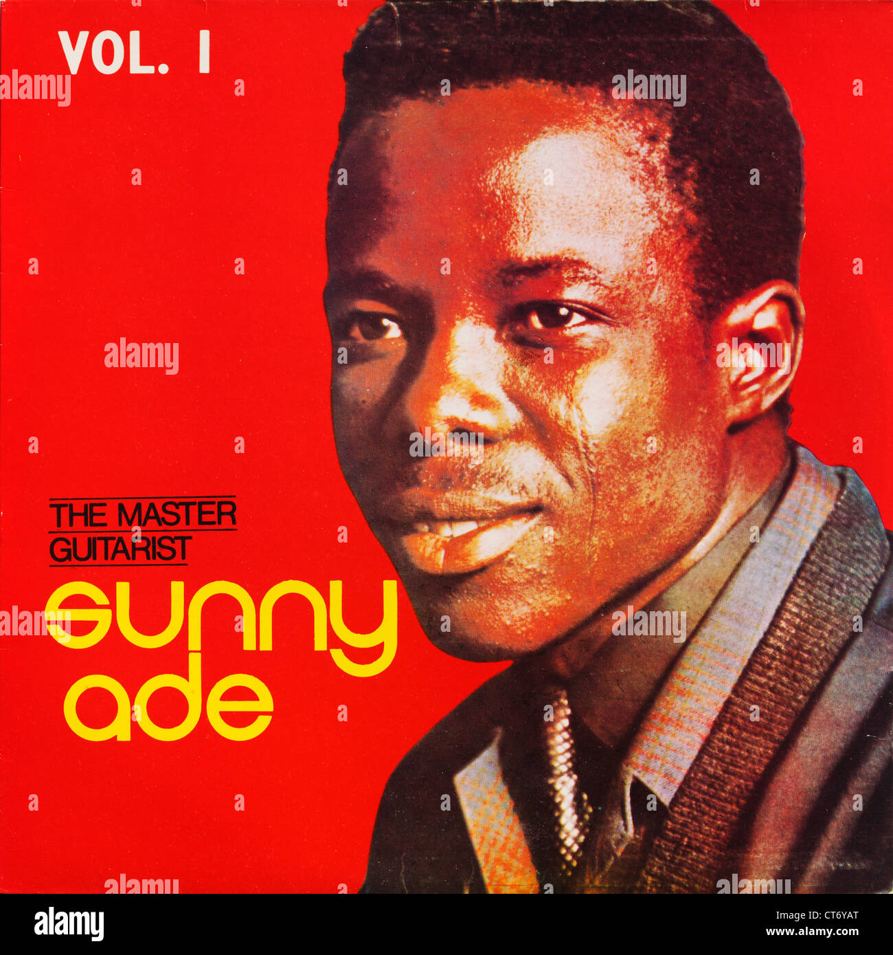 An old record album cover by the Nigerian musician King Sunny Ade.  Editorial use only.  Commercial use prohibited. - Stock Image