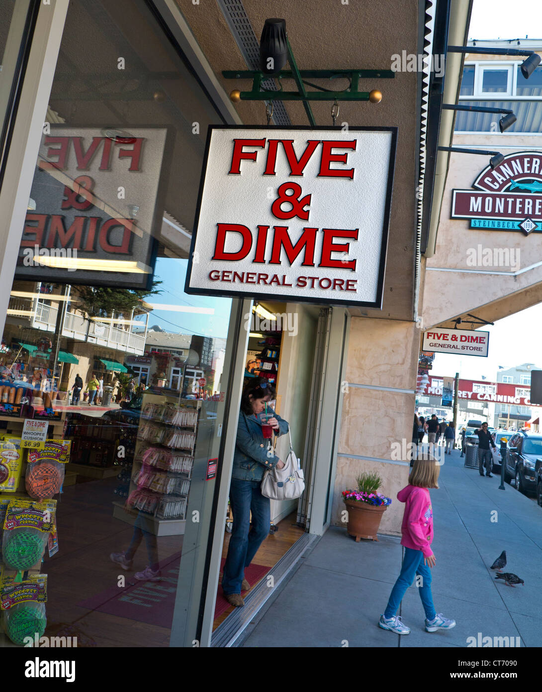 Five Dime General Restore Formerly Woolworth At Monterey California Usa Stock