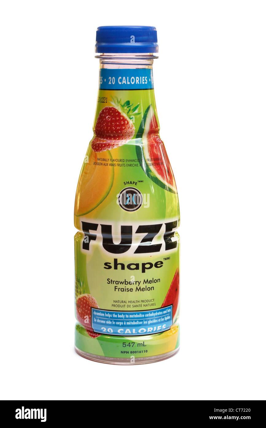 Fuze, Health Drink Product, Shape - Stock Image