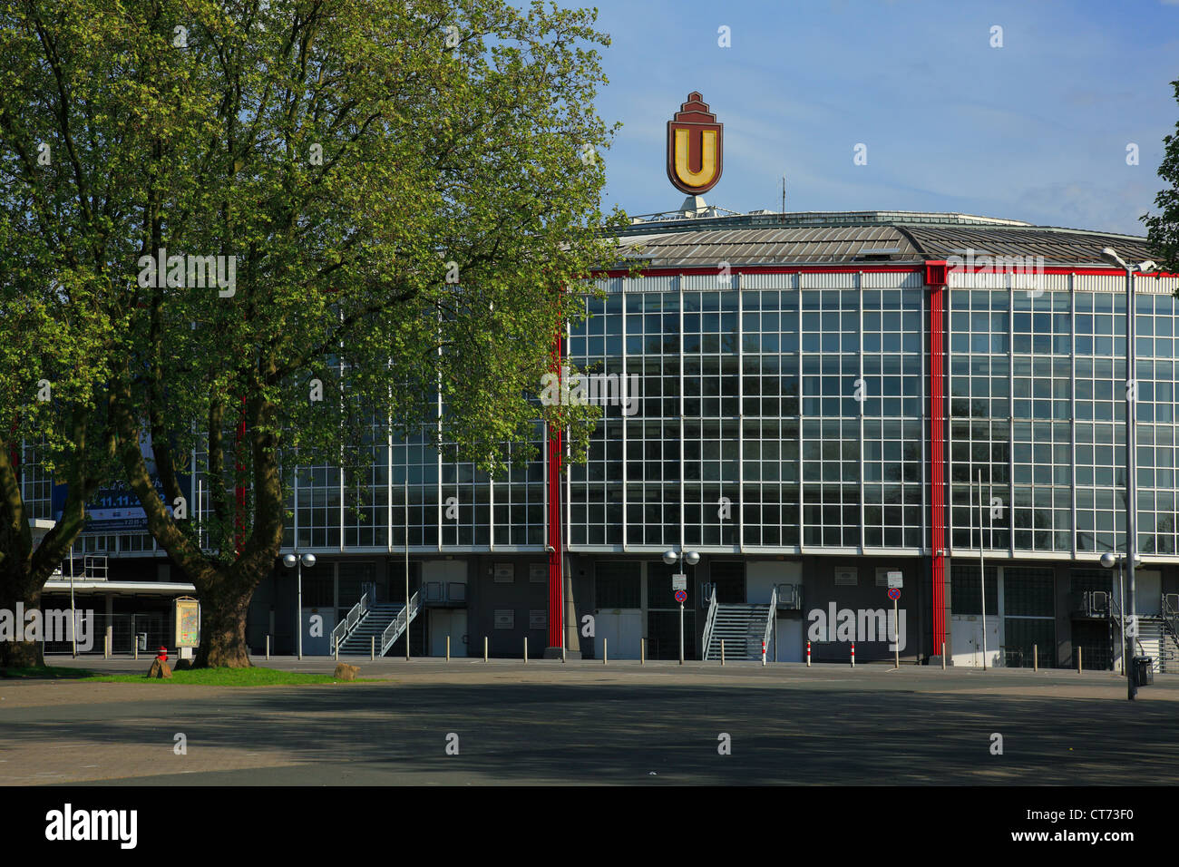 D-Dortmund, Ruhr area, Westphalia, North Rhine-Westphalia, NRW, Westfalenhallen Dortmund, Halls of Westphalia, exhibition - Stock Image