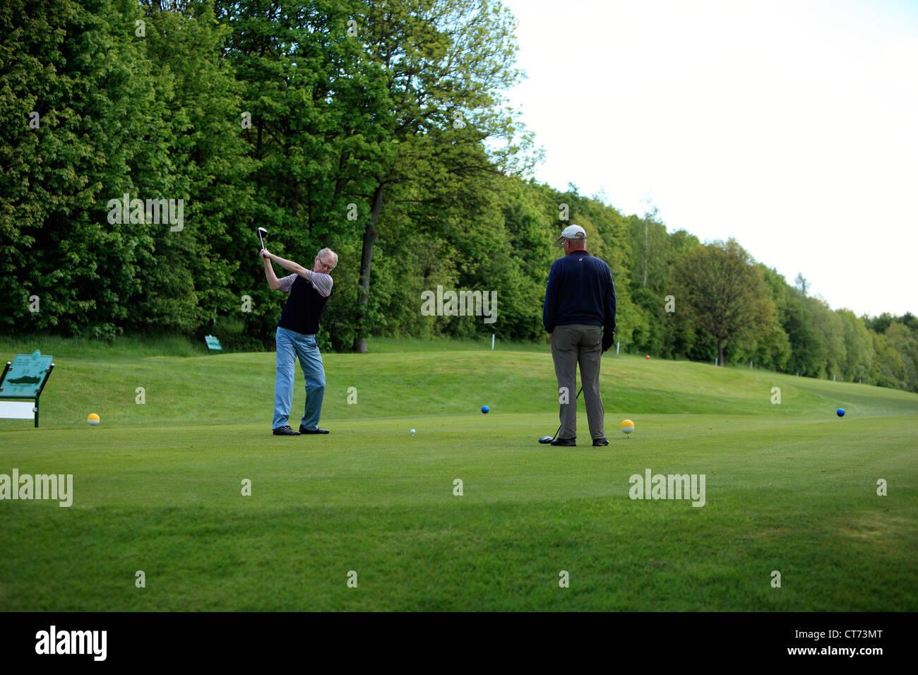 D-Dortmund, Ruhr area, Westphalia, North Rhine-Westphalia, NRW, Dortmunder Golfclub, golf course in the Reichsmark, Stock Photo