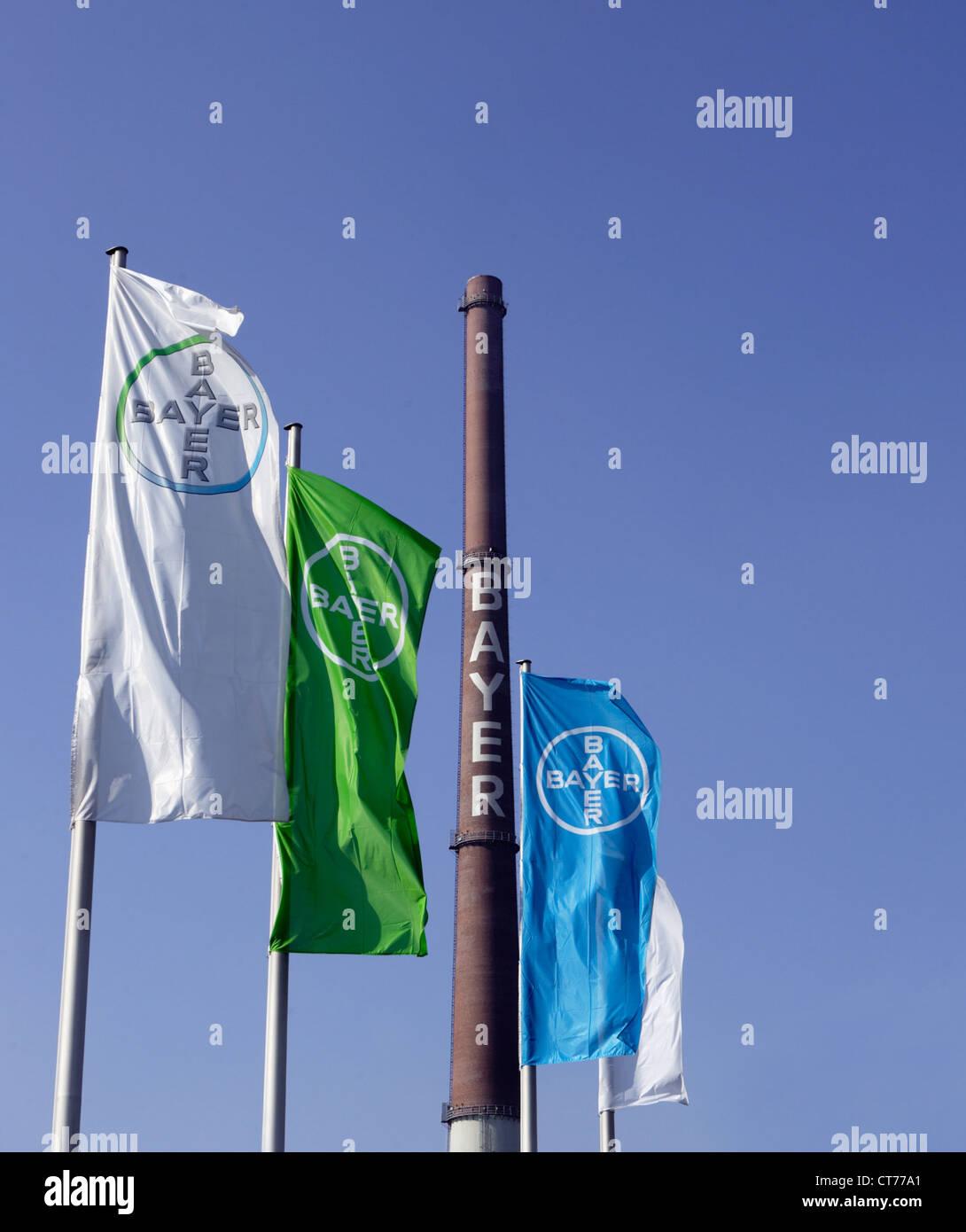 Bayer AG in Leverkusen - Stock Image
