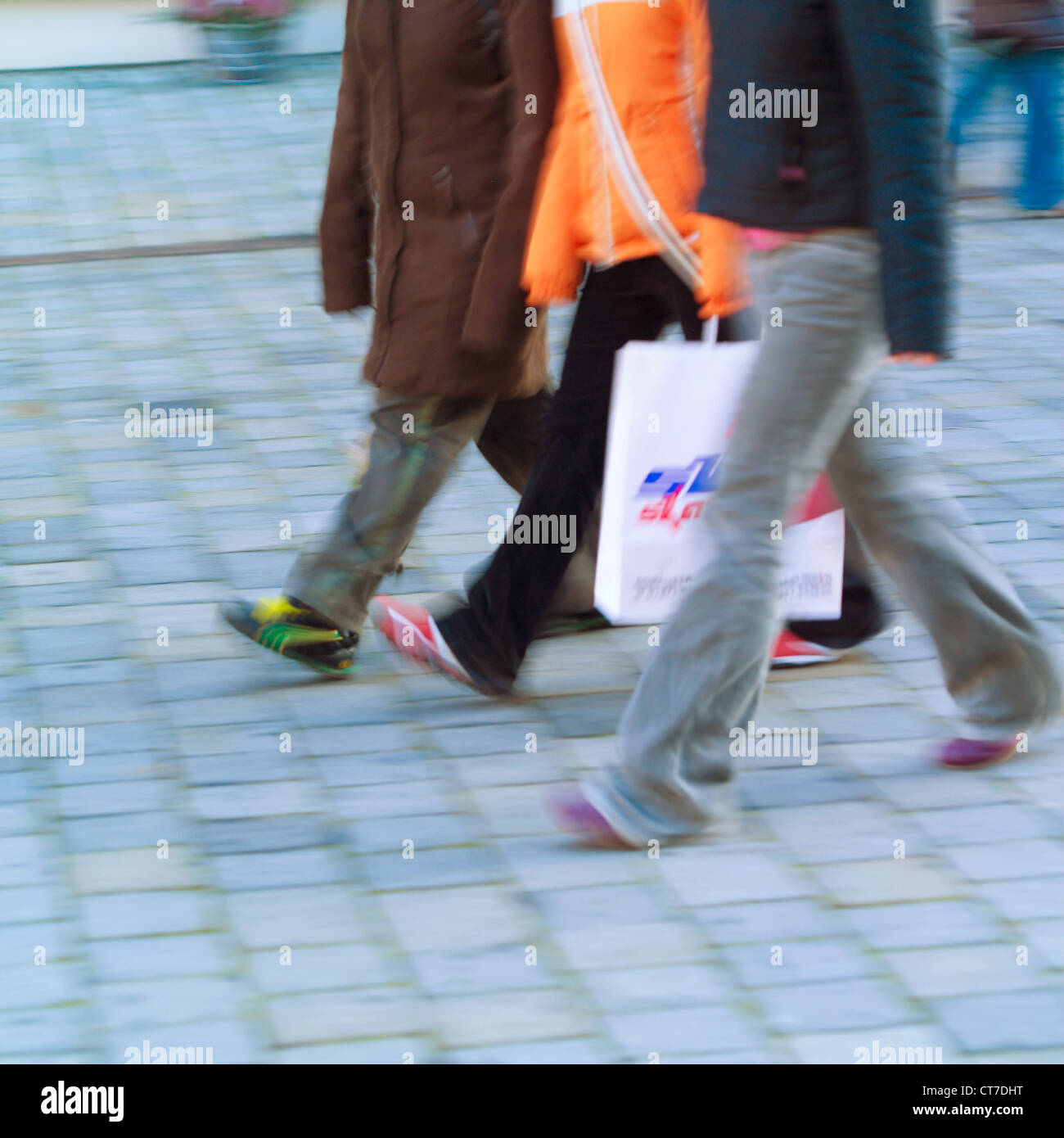 Passerby Stock Photo