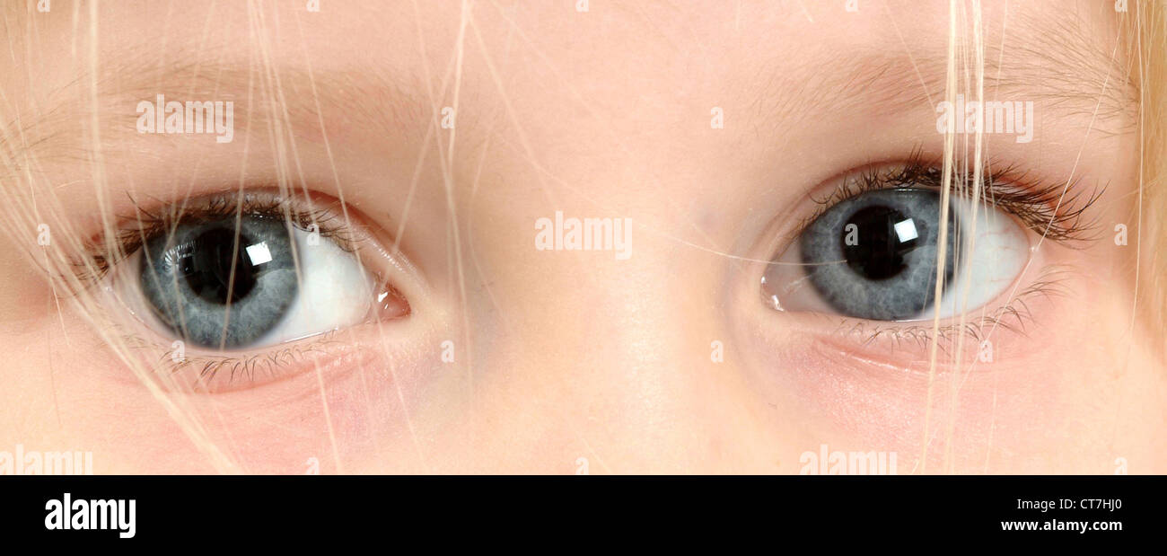 Children's Eyes Stock Photo - Alamy