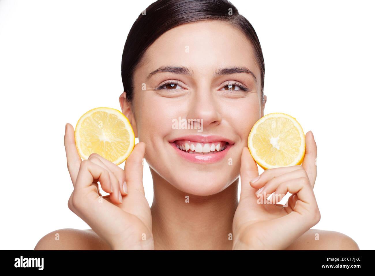 natural skincare - Stock Image