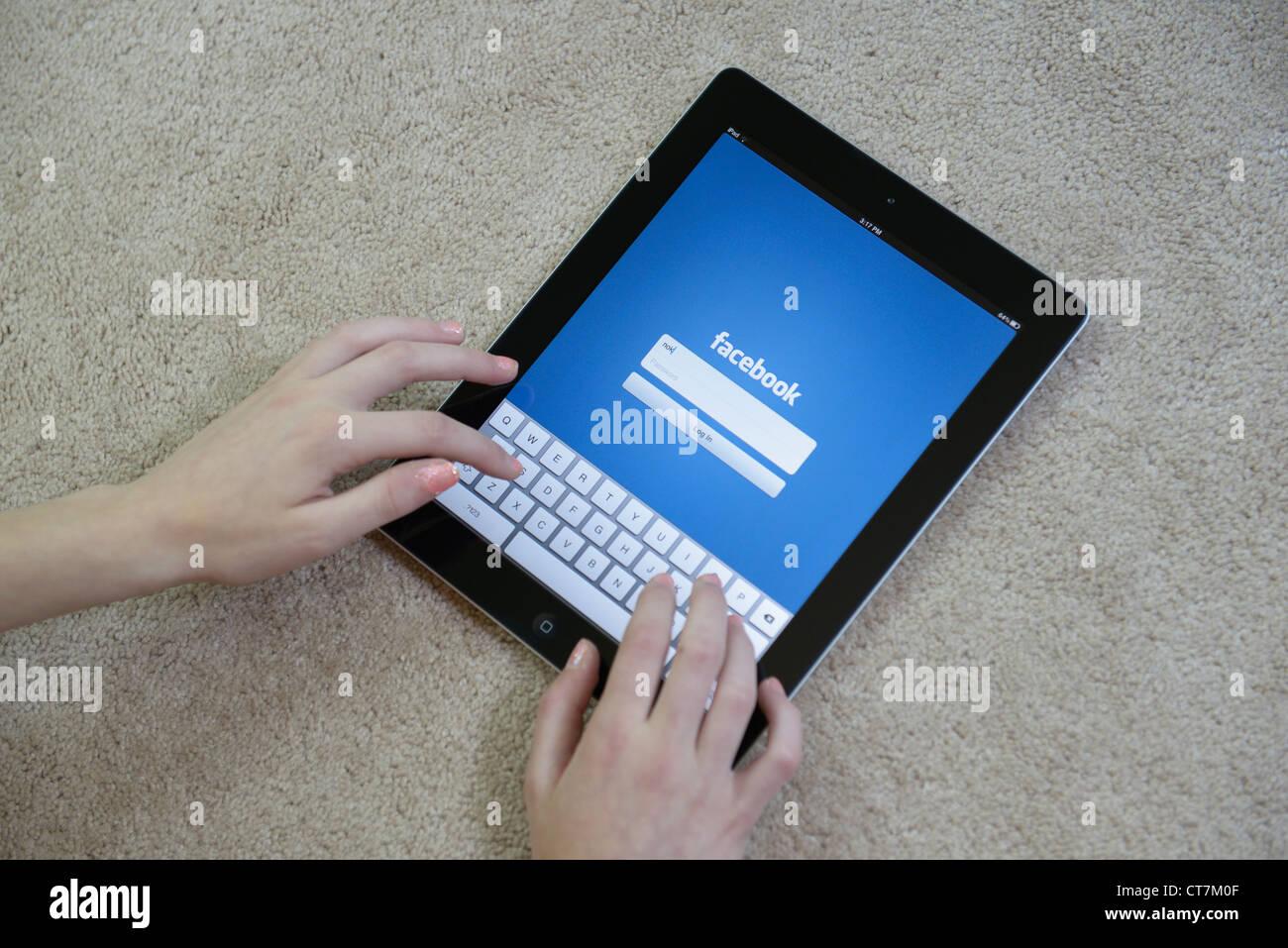 Facebook login girl