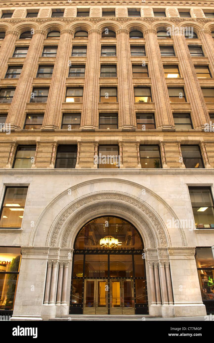 The Mills Building in San Francisco, California, USA. - Stock Image